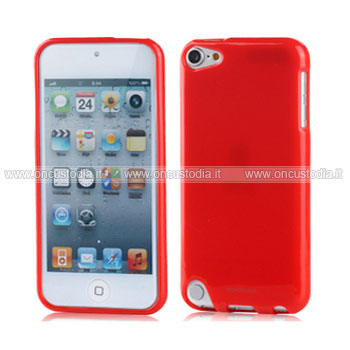 Custodia apple ipod touch 5 silicone case rosso for Housse ipod classic