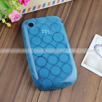 Custodia Blackberry Curve 8520 TPU Silicone Case Gel - Blu