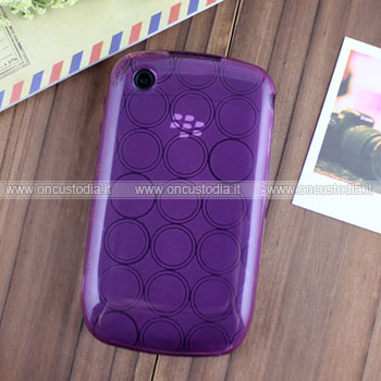 Custodia Blackberry Curve 8520 TPU Silicone Case Gel - Porpora