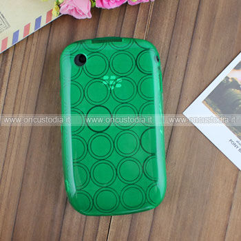 Custodia Blackberry Curve 8520 TPU Silicone Case Gel - Verde