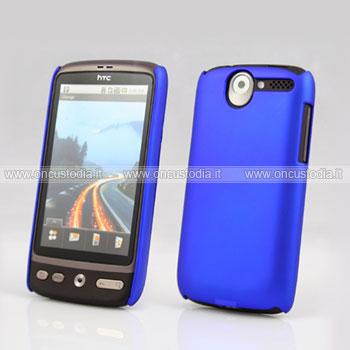 Custodia HTC Desire Bravo G7 A8181 Plastica Cover Rigida Guscio - Blu