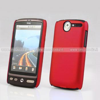 Custodia HTC Desire Bravo G7 A8181 Plastica Cover Rigida Guscio - Rosso