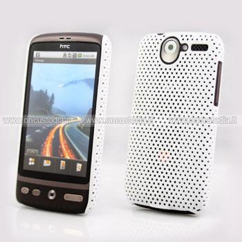 Custodia HTC Desire Bravo G7 A8181 Rete Cover Rigida Guscio - Bianco