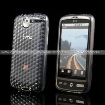 Custodia HTC Desire Bravo G7 A8181 TPU Silicone Case Gel - Chiaro