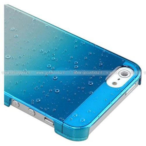 custodia iphone 5c blu