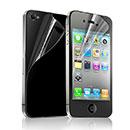 Apple iPhone 4S Proteggi Schermo Film Posteriore e Anteriore - Chiaro