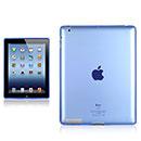 Custodia Apple iPad 2 Grid TPU Silicone Case - Blu