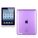 Custodia Apple iPad 2 Grid TPU Silicone Case - Porpora