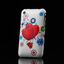 Custodia Apple iPhone 3G 3GS Amore Plastica Cover Rigida - Rosa