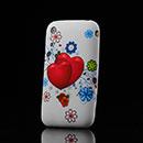 Custodia Apple iPhone 3G 3GS Amore Silicone Case Astuccio - Rosa