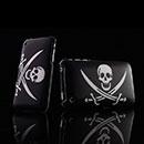 Custodia Apple iPhone 3G Cranio Plastica Cover Rigida - Nero