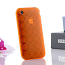 Custodia Apple iPhone 3G TPU Silicone Case Gel - Arancione