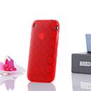 Custodia Apple iPhone 3G TPU Silicone Case Gel - Rosso