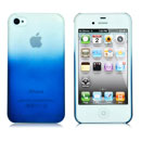 Custodia Apple iPhone 4 Sfumatura Cover Case - Blu
