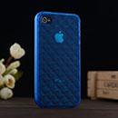 Custodia Apple iPhone 4S Diamante TPU Silicone Case Gel - Blu