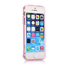 Custodia Apple iPhone 5 Flip Silicone Bumper - Rosa