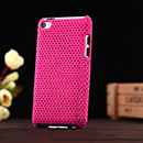 Custodia Apple iPod Touch 4 Rete Cover Rigida Guscio - Fucsia
