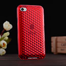 Custodia Apple iPod Touch 4 Silicone Diamante Silicone Case - Rosso