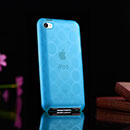 Custodia Apple iPod Touch 4 TPU Silicone Case Gel - Blu