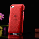 Custodia Apple iPod Touch 4 TPU Silicone Case Gel - Rosso