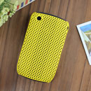 Custodia Blackberry Curve 8520 Rete Cover Rigida Guscio - Giallo