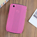 Custodia Blackberry Curve 8520 Rete Cover Rigida Guscio - Rosa