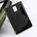 Custodia Blackberry Passport Q30 S-Line Silicone Bumper - Nero