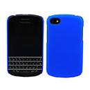 Custodia Blackberry Q10 Plastica Cover Rigida Guscio - Blu