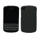 Custodia Blackberry Q10 Plastica Cover Rigida Guscio - Nero