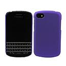 Custodia Blackberry Q10 Plastica Cover Rigida Guscio - Porpora