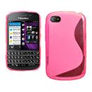 Custodia Blackberry Q10 S-Line Silicone Bumper - Fucsia