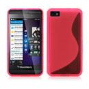 Custodia Blackberry Z10 S-Line Silicone Bumper - Fucsia