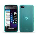 Custodia Blackberry Z10 Silicone Trasparente Case - Verde