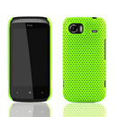 Custodia HTC 7 Mozart HD3 Rete Cover Rigida Guscio - Verde