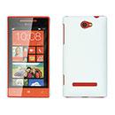 Custodia HTC 8S Windows Phone Plastica Cover Rigida Guscio - Bianco