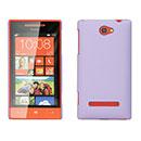 Custodia HTC 8S Windows Phone Plastica Cover Rigida Guscio - Porpora