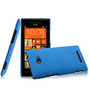 Custodia HTC 8X Windows Phone Plastica Cover Rigida Guscio - Blu