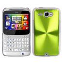 Custodia HTC Chacha G16 A810e Alluminio Metal Plated Cover - Verde
