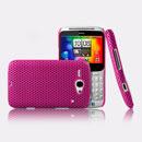 Custodia HTC Chacha G16 A810e Rete Cover Rigida Guscio - Fucsia