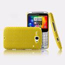 Custodia HTC Chacha G16 A810e Rete Cover Rigida Guscio - Giallo