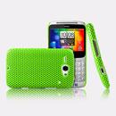 Custodia HTC Chacha G16 A810e Rete Cover Rigida Guscio - Verde