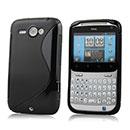 Custodia HTC Chacha G16 A810e S-Line Silicone Bumper - Nero