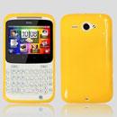 Custodia HTC Chacha G16 A810e Silicone Case - Giallo