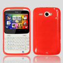 Custodia HTC Chacha G16 A810e Silicone Case - Rosso