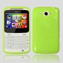 Custodia HTC Chacha G16 A810e Silicone Case - Verde
