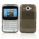 Custodia HTC Chacha G16 A810e TPU Diamante Silicone Case - Grigio