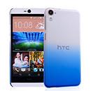 Custodia HTC Desire 826 826W Sfumatura Cover Bumper - Blu