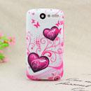 Custodia HTC Desire Bravo G7 A8181 Amore Silicone Case Astuccio - Porpora