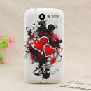 Custodia HTC Desire Bravo G7 A8181 Amore Silicone Case Astuccio - Rosso