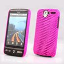 Custodia HTC Desire Bravo G7 A8181 Rete Cover Rigida Guscio - Fucsia